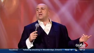 Why comedian Omid Djalili is a schmuck for a night