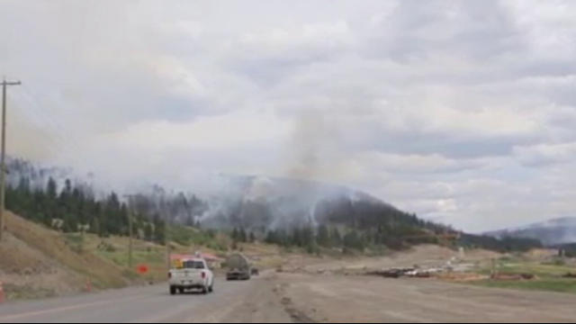 Almost  600 wildfires burning across BC