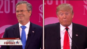 Trump oddly refers to Bush joking about mooning  people during fight over immigration