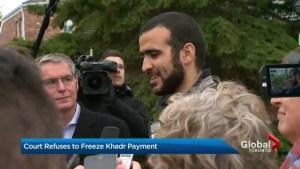 Judge dismisses request to freeze Omar Khadr's assets