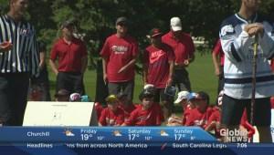 Better Winnipeg: Inner-city youth spend day at Pine Ridge Golf Course