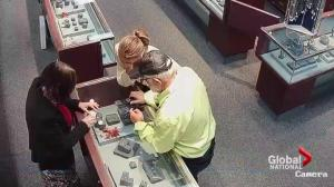 Brazen thieves suspected in multiple jewel heists