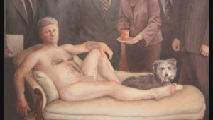 Naked Harper painting sold to B.C. business man