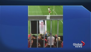 Toronto FC speaks out after offensive banner unveiled during match