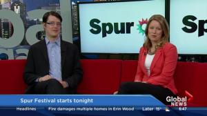 Spur Festival begins on Thursday