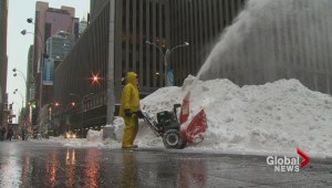How the blizzard affected the U.S. Northeast