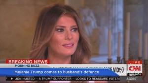 'Boy Talk': Melania Trump defends her husband
