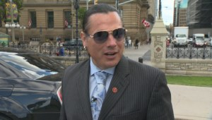 Sen. Patrick Brazeau discusses his return to the Senate