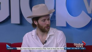 Manitoba musician's new song helping Canadian Red Cross