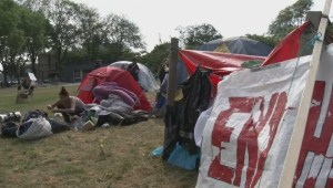 Park protesters served with eviction notice
