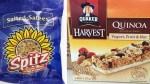 Sunflower kernels, granola bars recalled due to listeria concerns