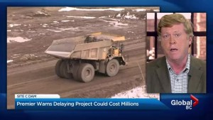 Delaying Site C dam in B.C. could cost $600M: Clark