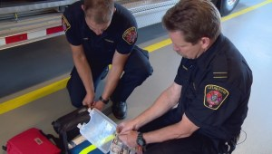 Celebrating Lethbridge paramedics