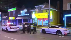 Man shot through window at North York restaurant