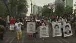 Demonstrations mark 6 months since 43 students disappeared in Mexico