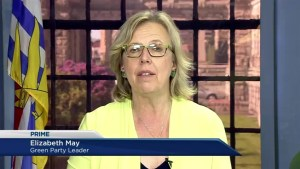 Elizabeth May celebrates 4 years as Green Party leader