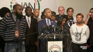 Al Sharpton, family of Michael Brown vow to have justice by next Thanksgiving