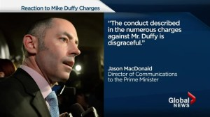 Political fallout of Mike Duffy investigation