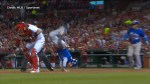 Blue Jays' Chris Coghlan makes all-time great leap to tag home plate