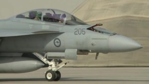 Australian warplanes begin bombing ISIS targets