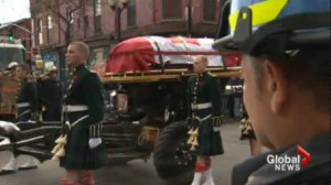Cpl. Nathan Cirillo laid to rest in Hamilton