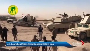 Iraq forces aim to push ISIS out of Tal Afar