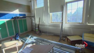 Toronto Kindergarten students moved to library after classroom not ready