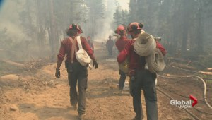 On the front line of the Princeton-area wildfire