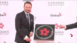 Canadian singer Corey Hart inducted into Canada's Walk of Fame