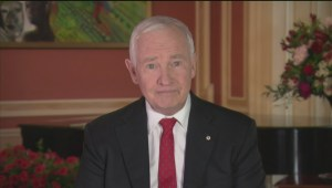 Canada Day message from Governor General David Johnston