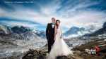 Couple gets married on Mount Everest and the photos are out of this world