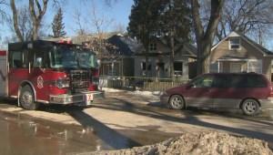 Winnipeg police investigating fire on Aberdeen Avenue