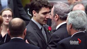 Prime Minister Trudeau will not attend Castro's funeral