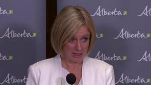 Premier Rachel Notley responds to poll putting Alberta NDP in third
