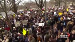 Protests continue after Trump's travel ban
