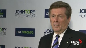 John Tory sends firm message to Doug Ford over his candidacy