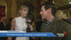 Does Taylor Swift make a good point about sexist critics?