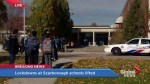 School lockdowns lifted after report of person with a gun