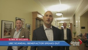 UBC scandal: Benefactor speaks out