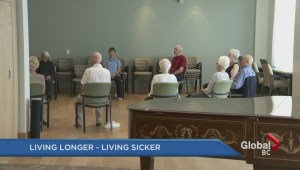 People living longer, but are sicker