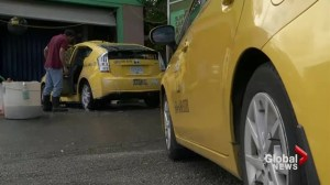 Vancouver taxi companies implement vomit clean-up fee