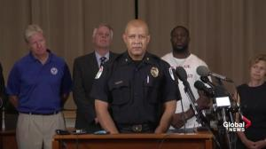 Charlottesville police chief comments on violent protest