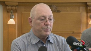 Opposition says care worker suspended because he spoke out, government says otherwise