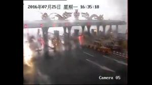 Raw video: Powerful tornado wreaks havoc in China's Jilin Province