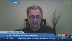 Andre Gerolymatos on Greek debt deadline