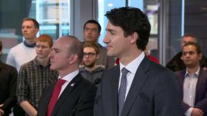 Trudeau says they are very serious about moving forward with mental health improvements