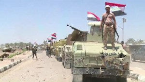 Iraqi forces gain ground in battle with ISIS fighters in key city of Fallujah