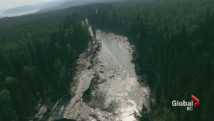 Mount Polley tailings pond devastation levels