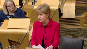 Scottish parliament backs bid for a second independence referendum