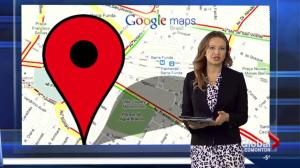 Giving info to Google's traffic maps